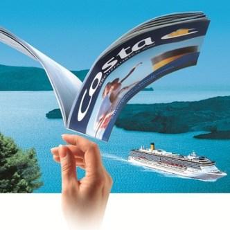 Tourismus: Visual für B2B-Inserat Costa Kreuzfahrten