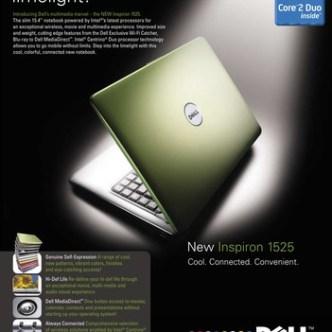 IT Computer: Image-Fachzeitschriften-Inserat für den neuen Dell Inspiron