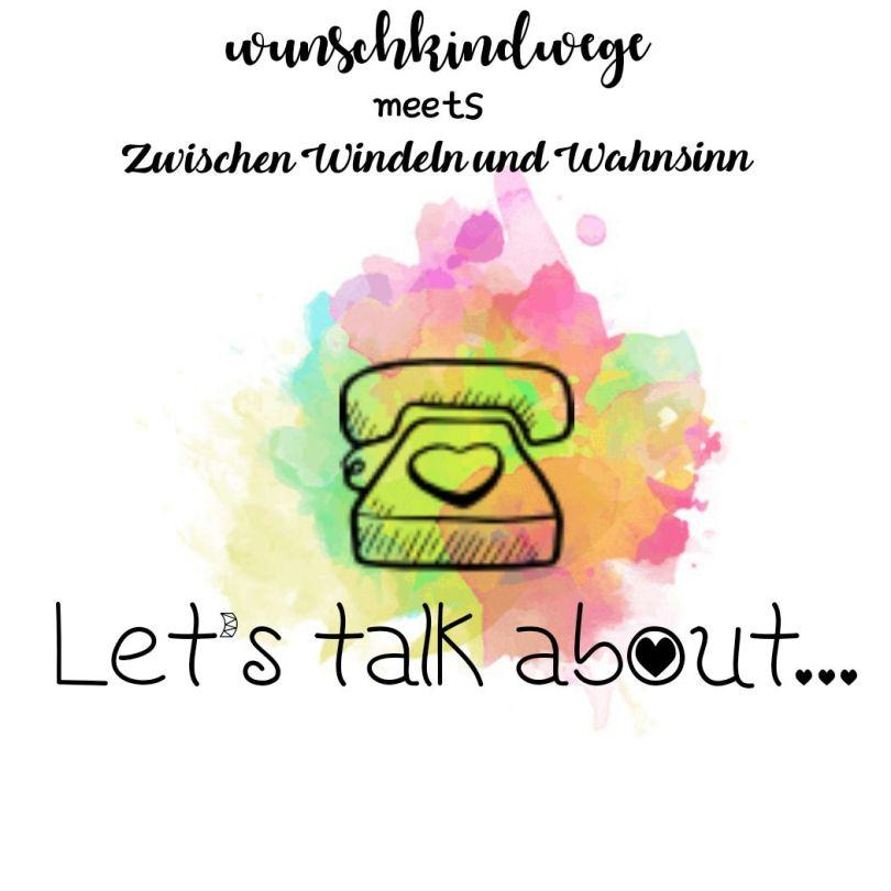 Stillen oder Flasche Lets talk about Logo