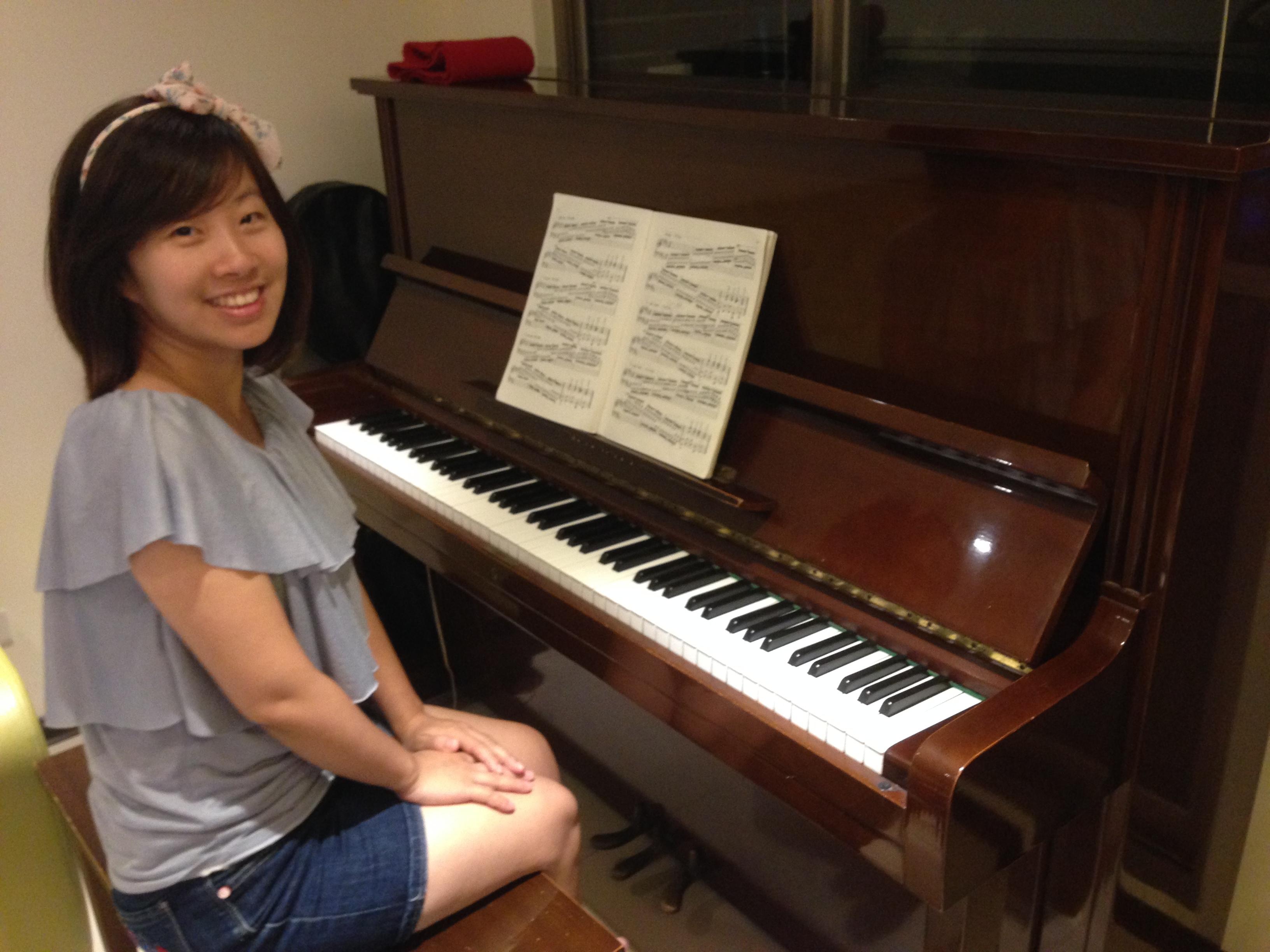 吳楷馨 | 鋼琴教學 / 個人空間