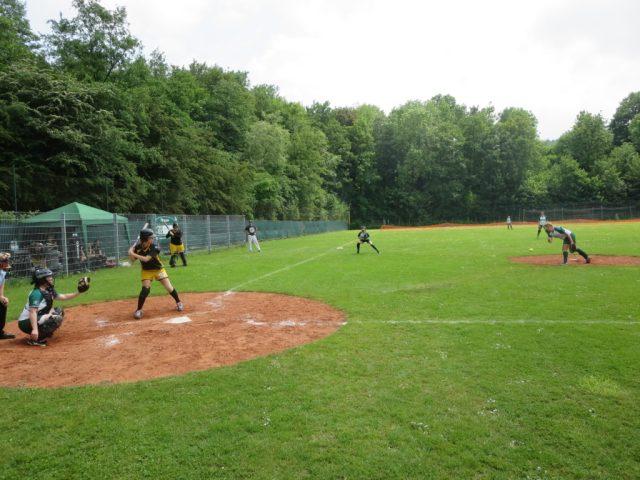 Softball Wuppertal Stingrays vs. Paderborn 29.05.2016