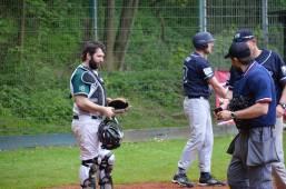 Baseball Wuppertal Stingrays vs Ennepetal Raccoons 29-04-2018 I