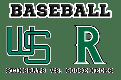 Baseball Wuppertal Stingrays versus Ratingen Goose Necks