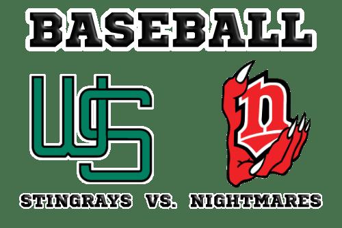 Baseball Wuppertal Stingrays vs Neunkirchen Nightmares