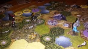 Mage Knight Board Game - Победа синих