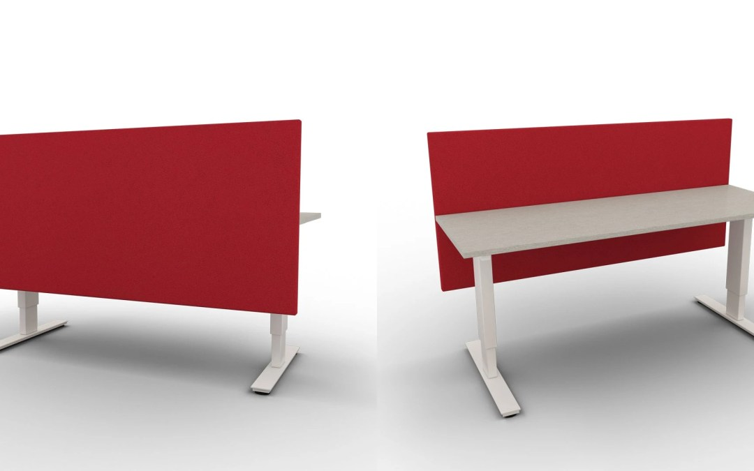 Desk divider - all in one