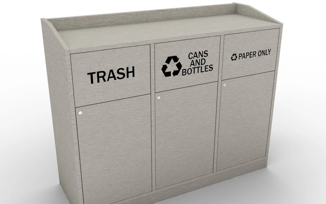 NEW product Alert! Waste management cabinets