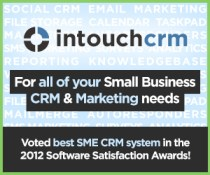 intouchcrm for all your small business crm sales and marketing needs