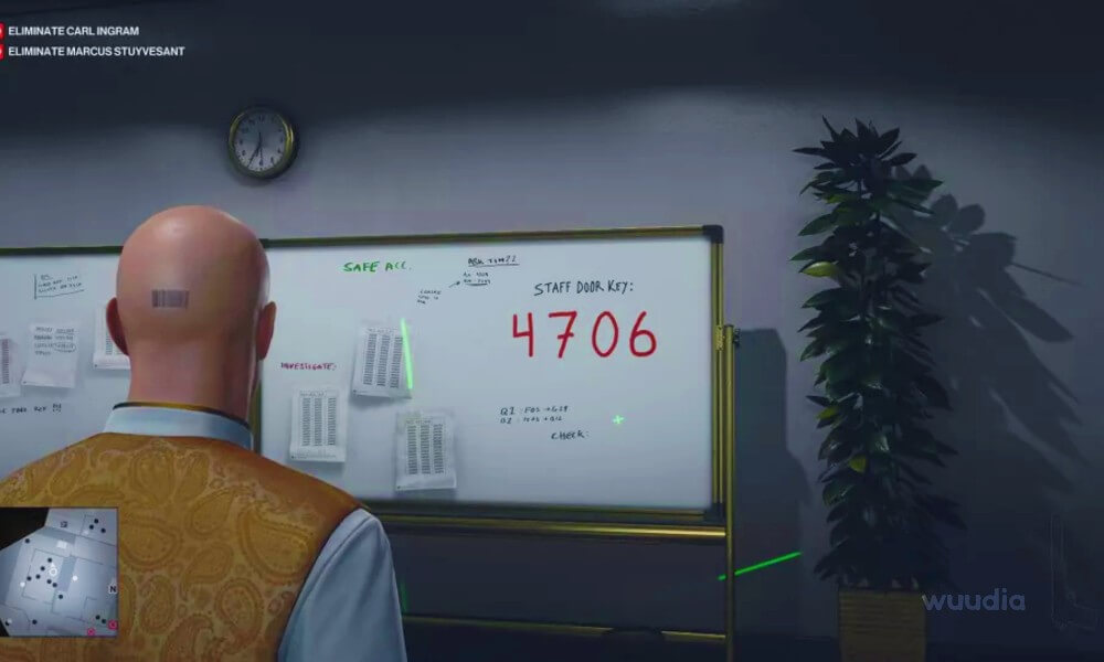 Hitman 3 Kapı Şifreleri