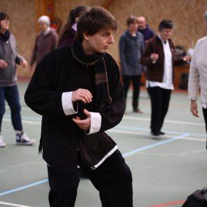 Antoine Monnier, enseignant de taiji et de qi-gong à Saint Malo et Saint Jouan des Guérets pour l'école Wu Xing Dao