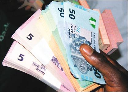 Image result for Naira trades flat at 363/dollar