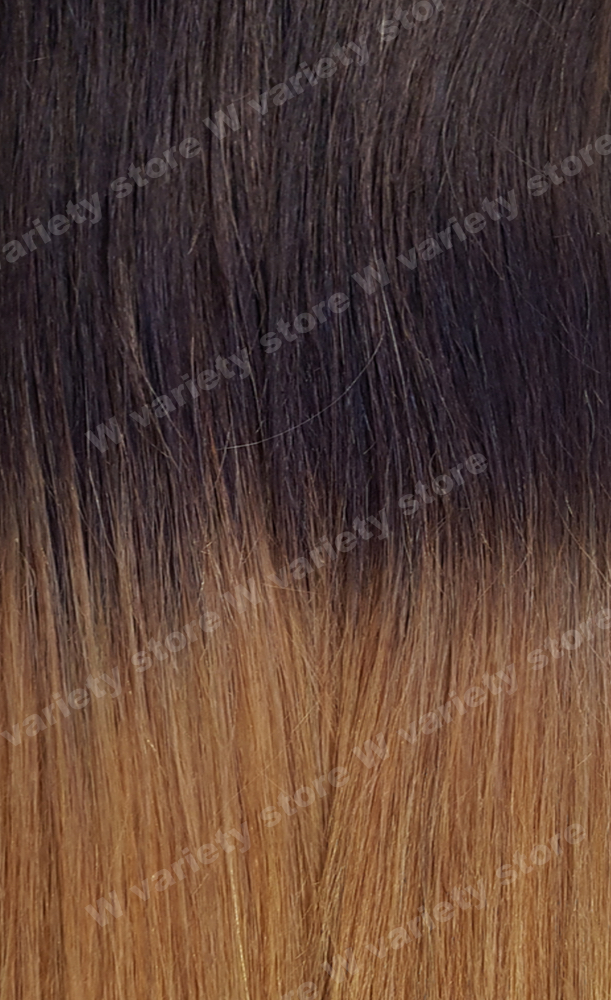 22 Thick Ombre Balayage 1b12 Natural Black Dark Blonde Remy