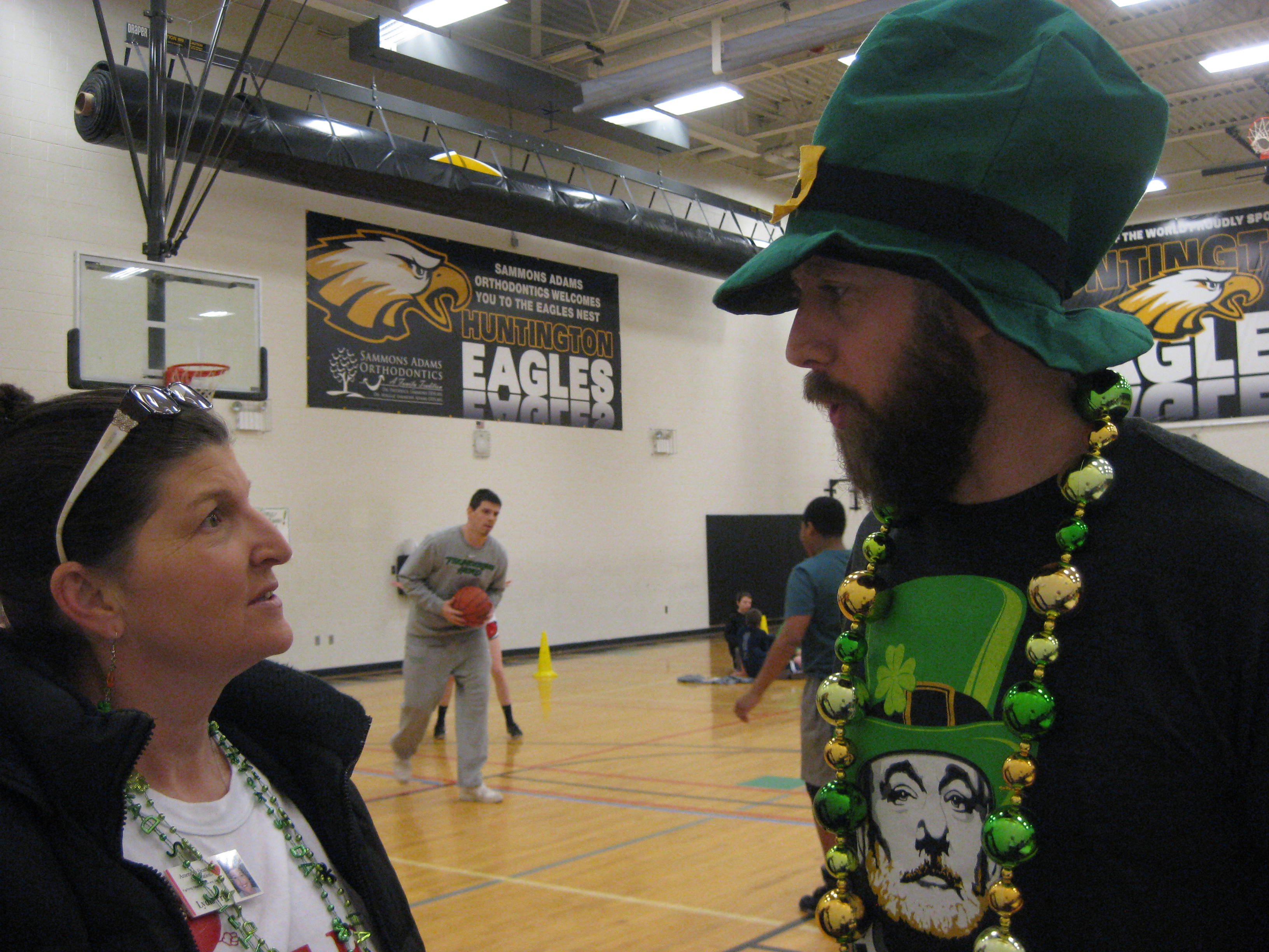 Hoops For Heart at HMS