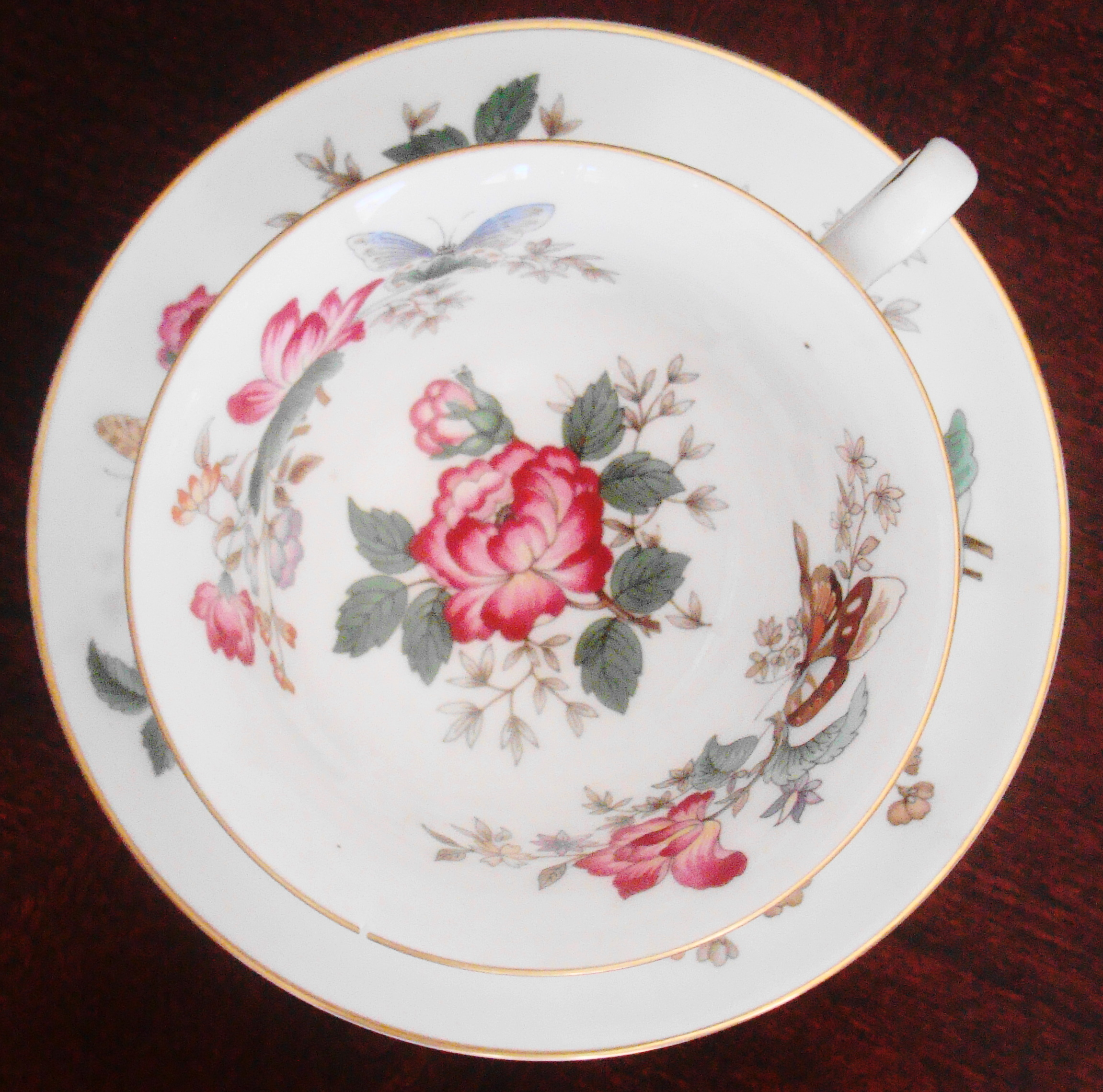 The very-special English teacup.
