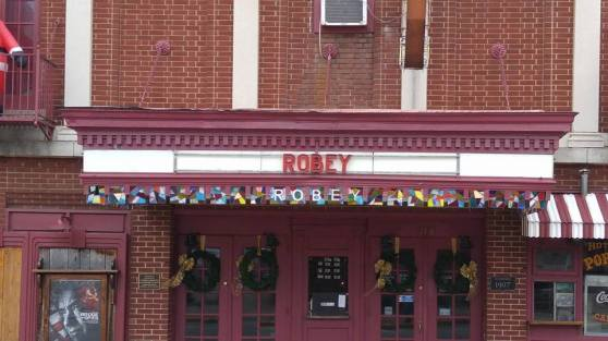 Robey - new mosaic glass, front, day