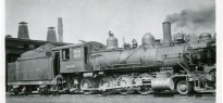 Image of B & O Locomotive No. 1239 a similar engine to the one that was involved in the accident that resulted in the loss of life of 3 men