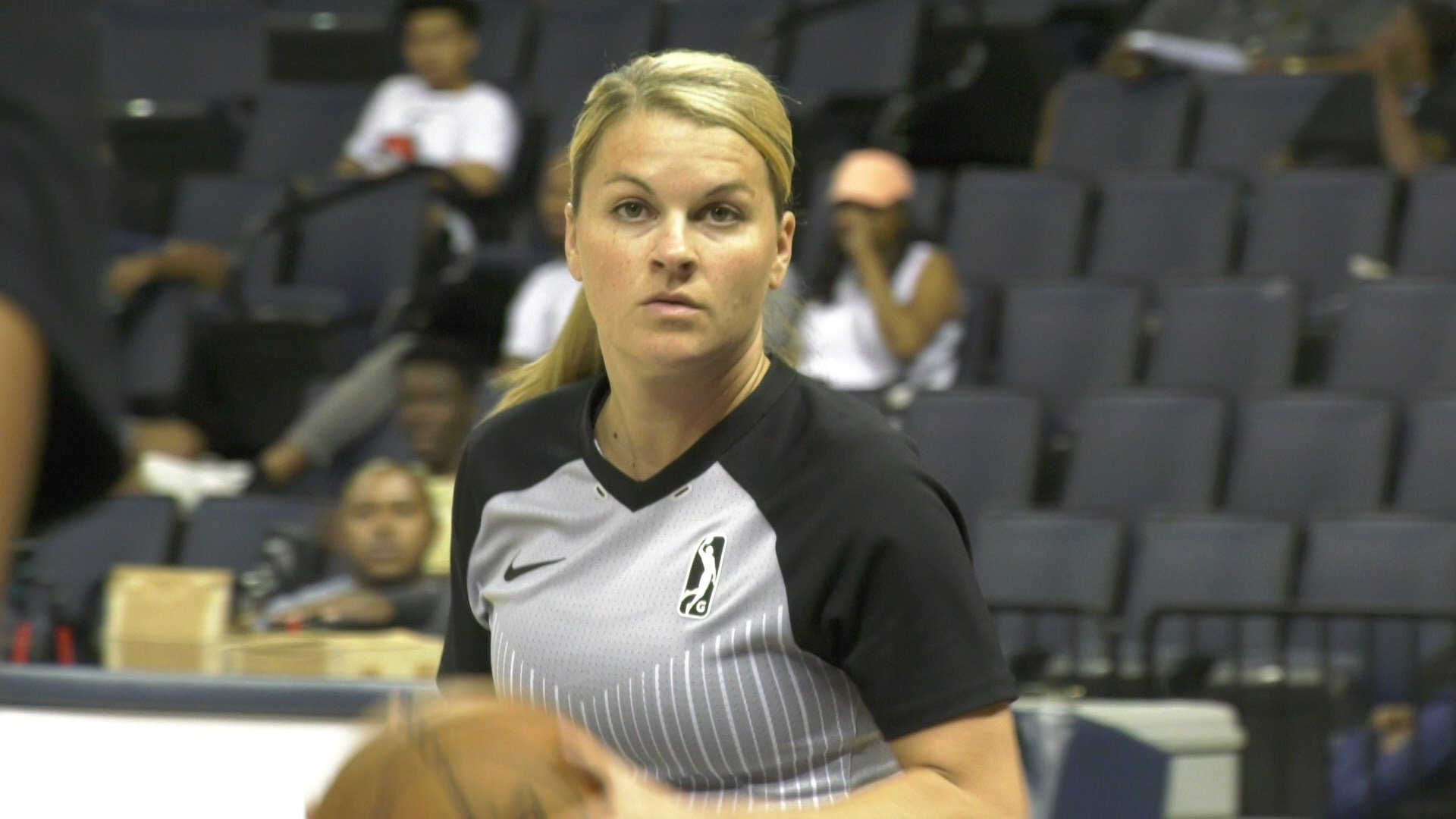 Females Officiating At NBPA Top 100 Camp For First Time