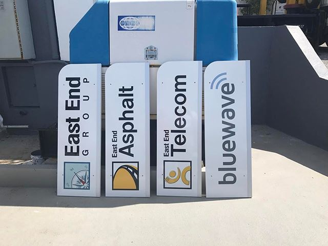 New signage going up. #telecom #eeg #catchthebluewave #ForeverBermuda#GoToBermuda#Bernews#BermudaDreaming#Paradise #photography #bermuda