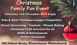 Christmas Family Fun Event - Winterborne Whitechurch