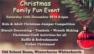 Christmas Family Fun Event - Winterborne Whitechurch