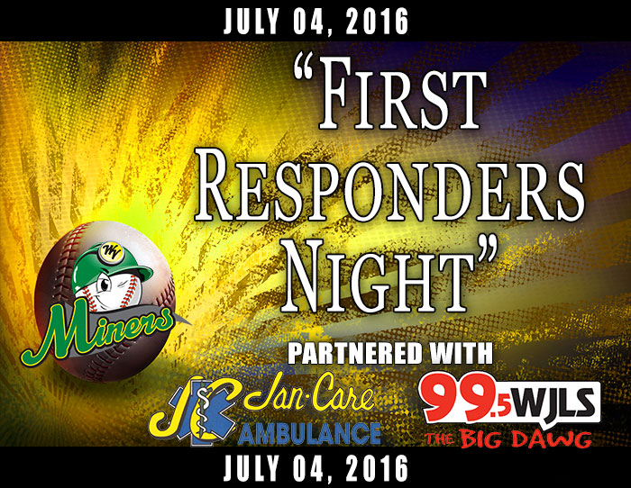 "07/04: ""First Responders Night"" (Jan Care & WJLS Radio)"