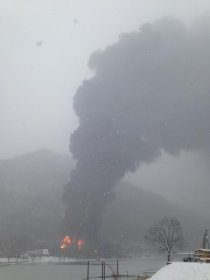 Boomer has been evacuated as a result of a fire caused by a train derailment in Powelltown Hollow, WV.