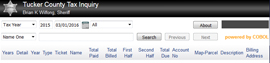 Tucker County Taxes online database