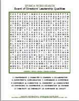 EPOHOA Word Search Leadership