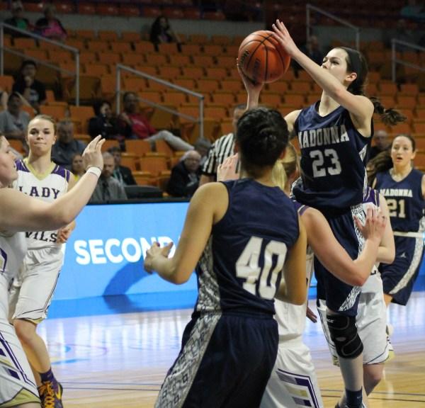 Girls State Basketball - St. Marys vs. Weirton Madonna ...