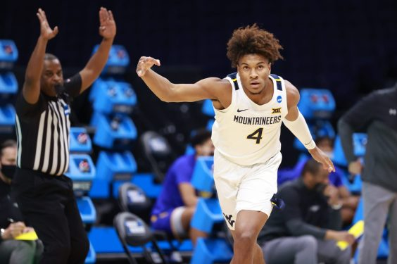 Deuce McBride Leads WVU to First-Round NCAA Victory Over Morehead State |  WV Sports Now
