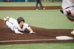West Virginia third baseman Kaeber Rog. Logan Adams/WVSN