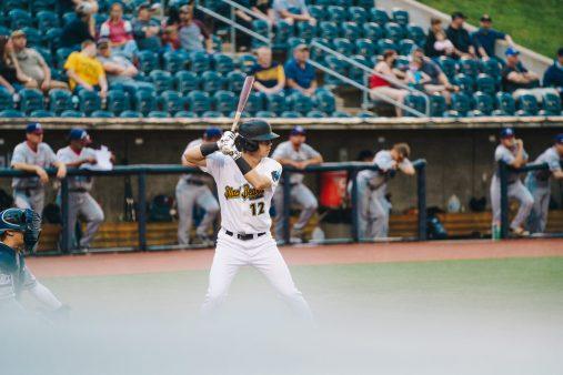 West Virginia right fielder Jesse Pierce. Logan Adams/WVSN