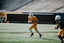 Quarterback Jarret Doege. WVU Athletics