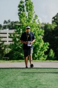 Head coach Neal Brown. WVU Athletics