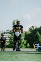 Offensive tackle Parker Moorer. WVU Athletics