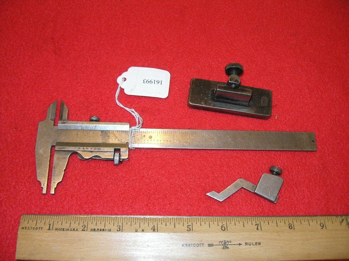 Odd Mauser Germany Made For George Scherr Co Ny Vernier