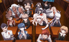 Danganronpa: Kibou no Gakuen to Zetsubou no Koukousei The Animation الحلقة 1
