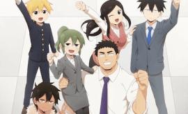 Senpai ga Uzai Kouhai no Hanashi الحلقة 1