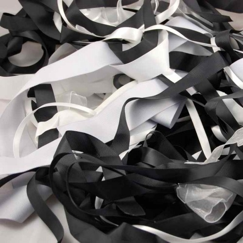 ribbon-off-cuts-black-white-silver-mix