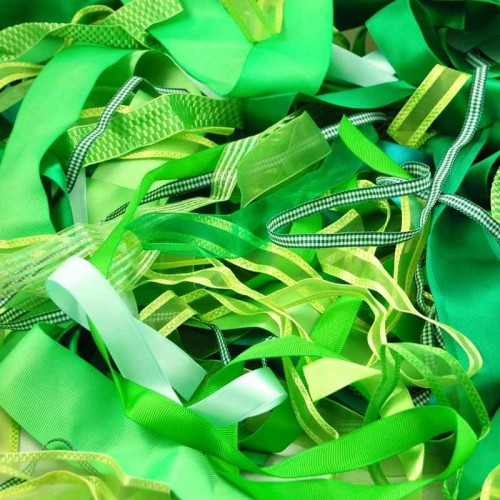ribbon-off-cuts-green