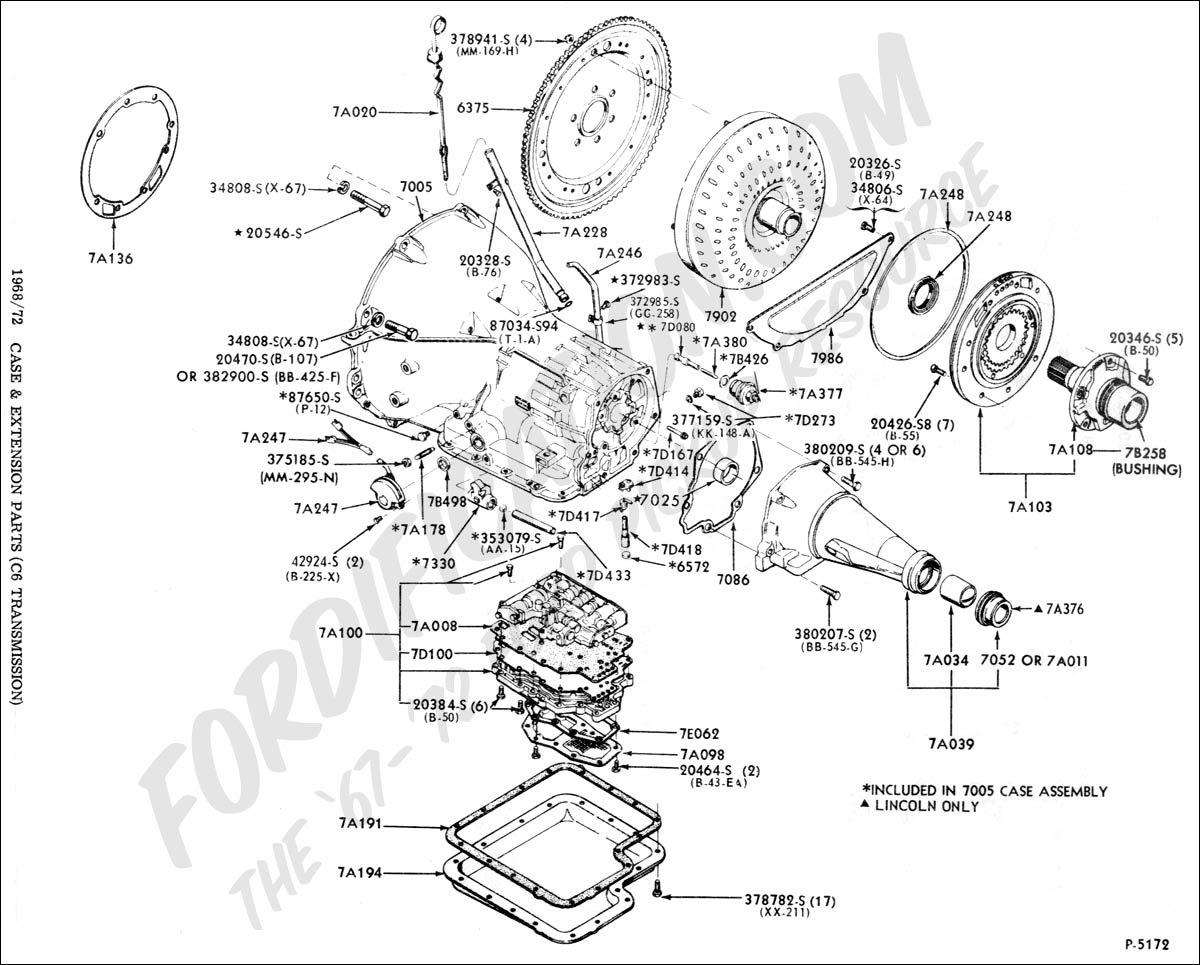 A4ld Automatic Transmission Diagrams. Parts. Wiring