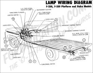 Ford Truck Technical Drawings and Schematics  Section H  Wiring Diagrams