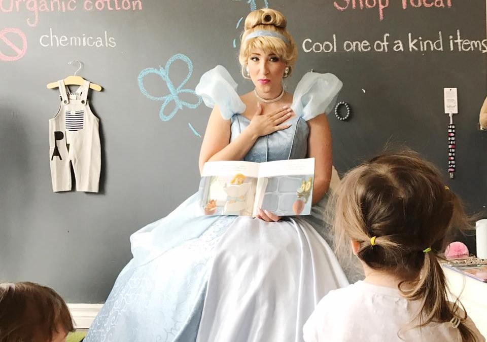 Story Time at Toronto's Little White Sneakers