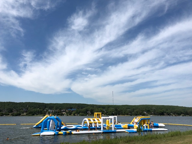 FAMILY TRAVEL: FLOATING WATER PARKS