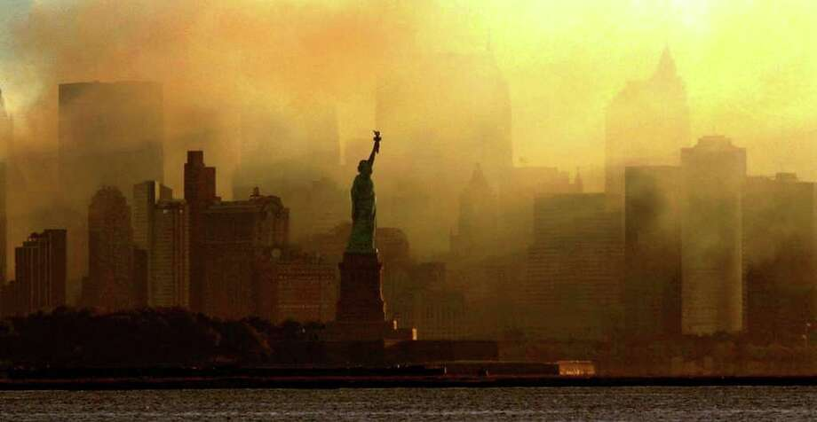 Image result for 9/11 liberty statue