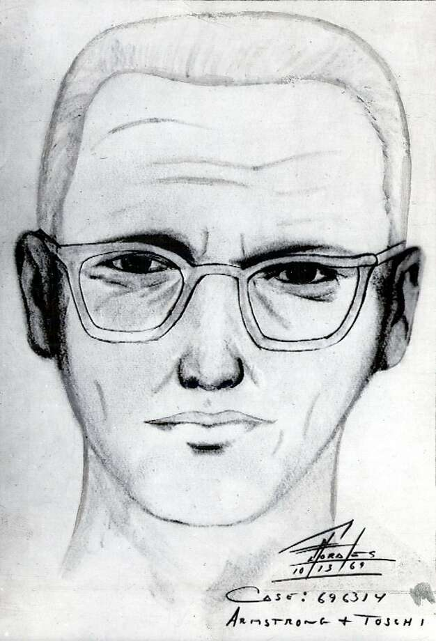 "Police sketch of the man suspected of being the ""Zodiak Killer,"" 1969. Photo: Handout, The Chronicle"
