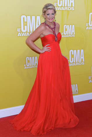 Country music artist Lauren Alaina attends the 46th annual CMA Awards at the Bridgestone Arena on November 1, 2012 in Nashville, Tennessee. Photo: Jason Kempin, Getty Images / 2012 Getty Images