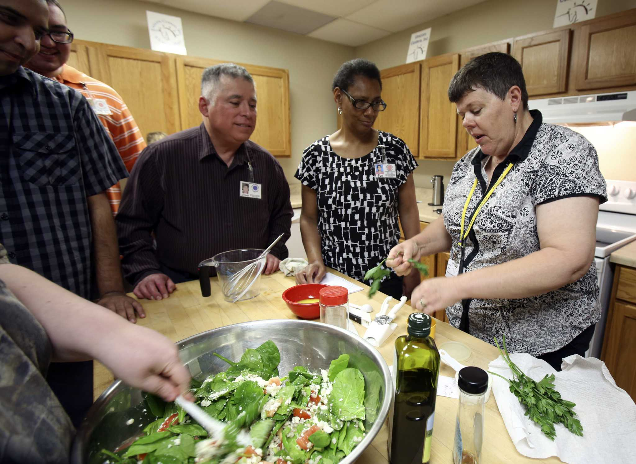 Adults With Disabilities Develop Life Skills Through Cooking