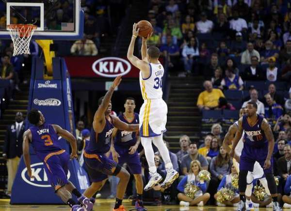 Warriors' 16-0 run help them top Suns - SFGate