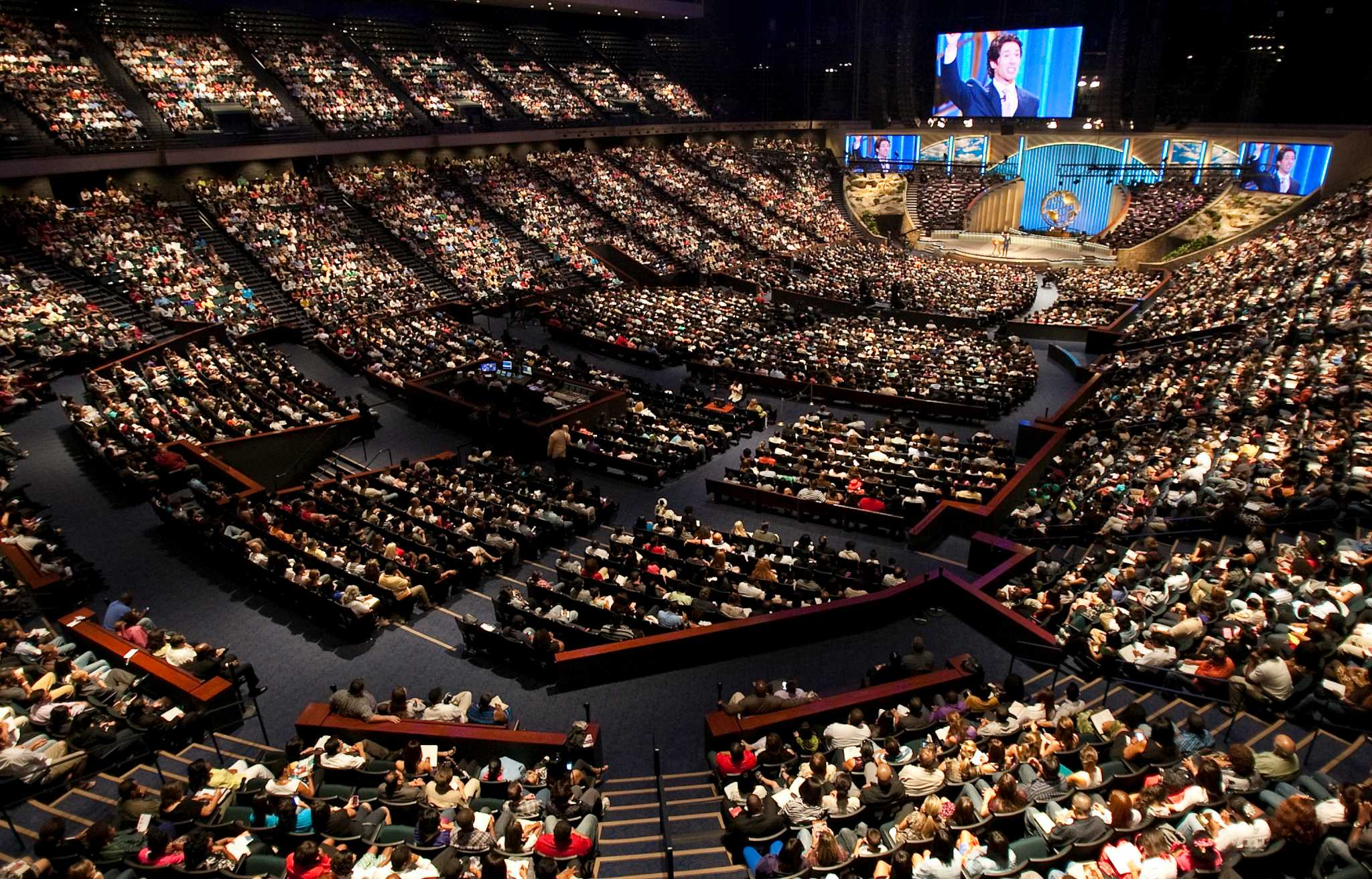 Image result for inside of lakewood church